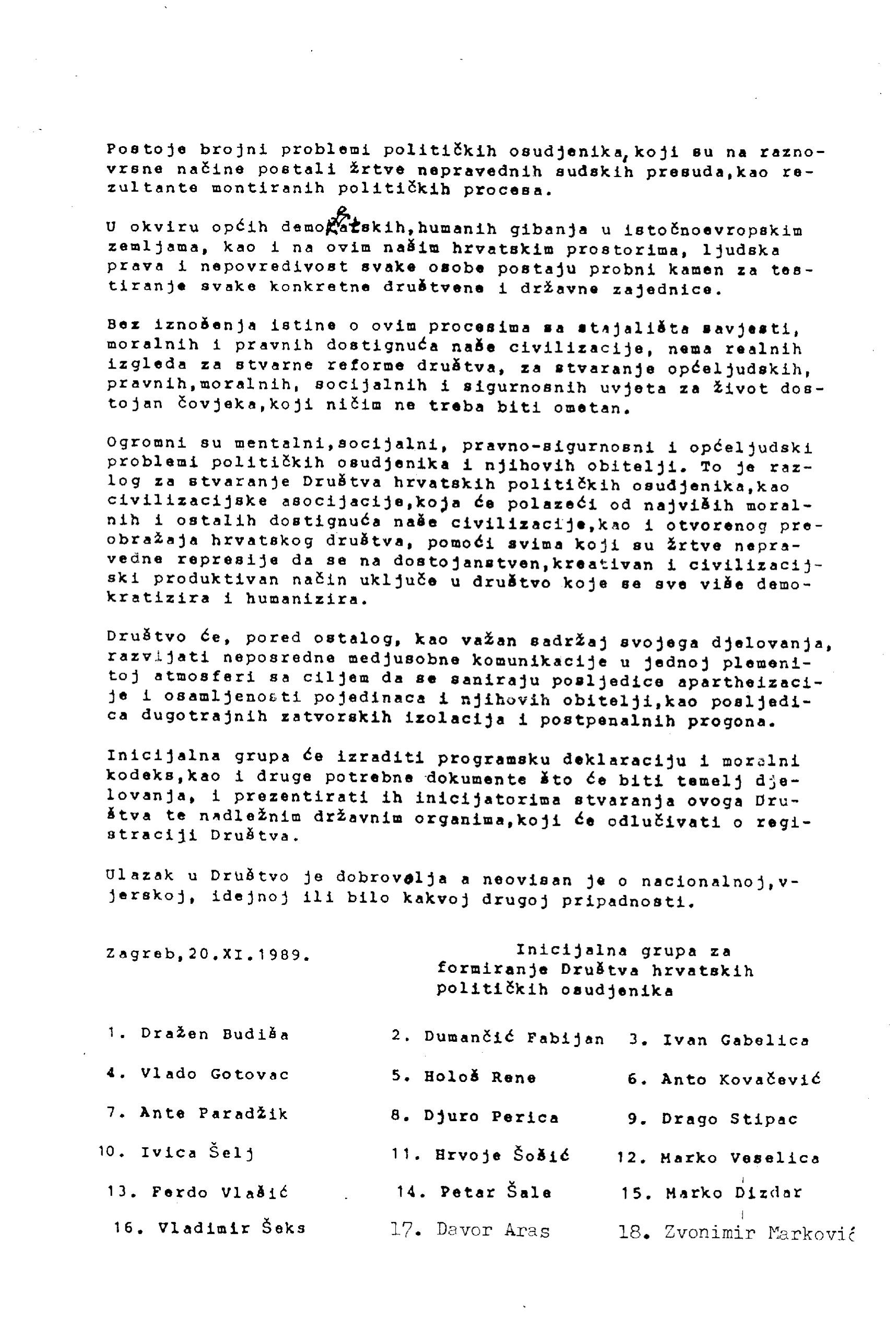 inicijativni sastanak 1989.